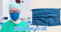 Bác Sĩ Người Đài Loan Hướng Dẫn Cách Làm Khẩu Trang Lọc Khí Tự Chế